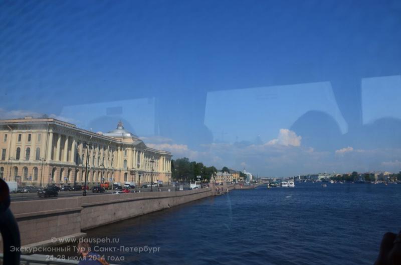 Обзорная экскурсия по санкт петербургу